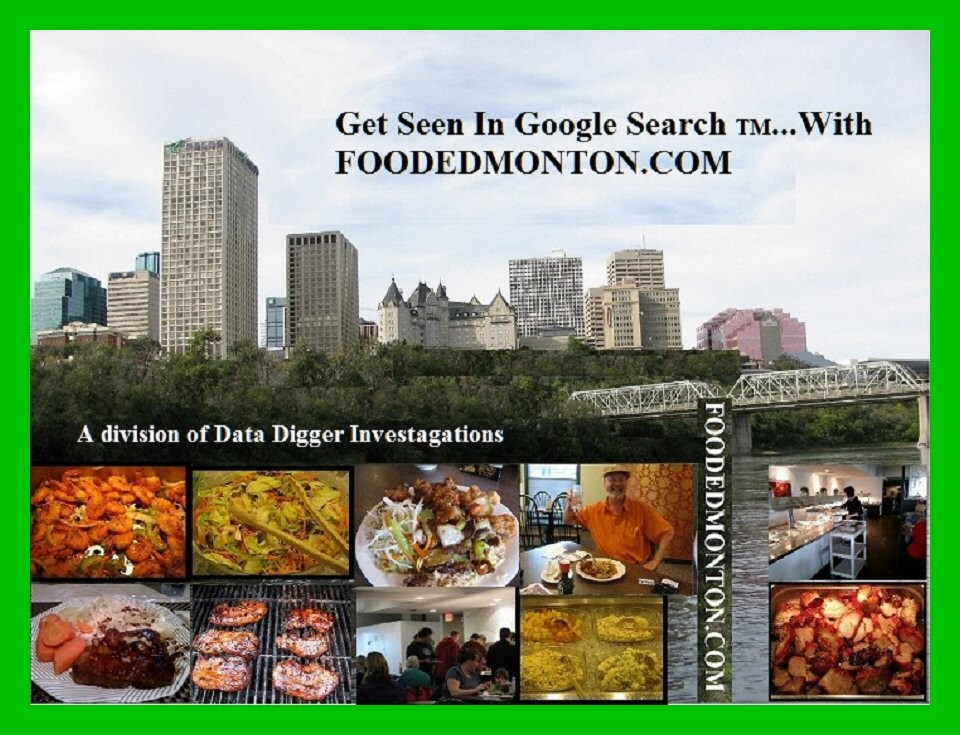 "Food Edmonton – ""Get Your Business  Seen In Google  Search""."