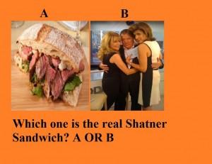 Shatner Sandwich TO POST